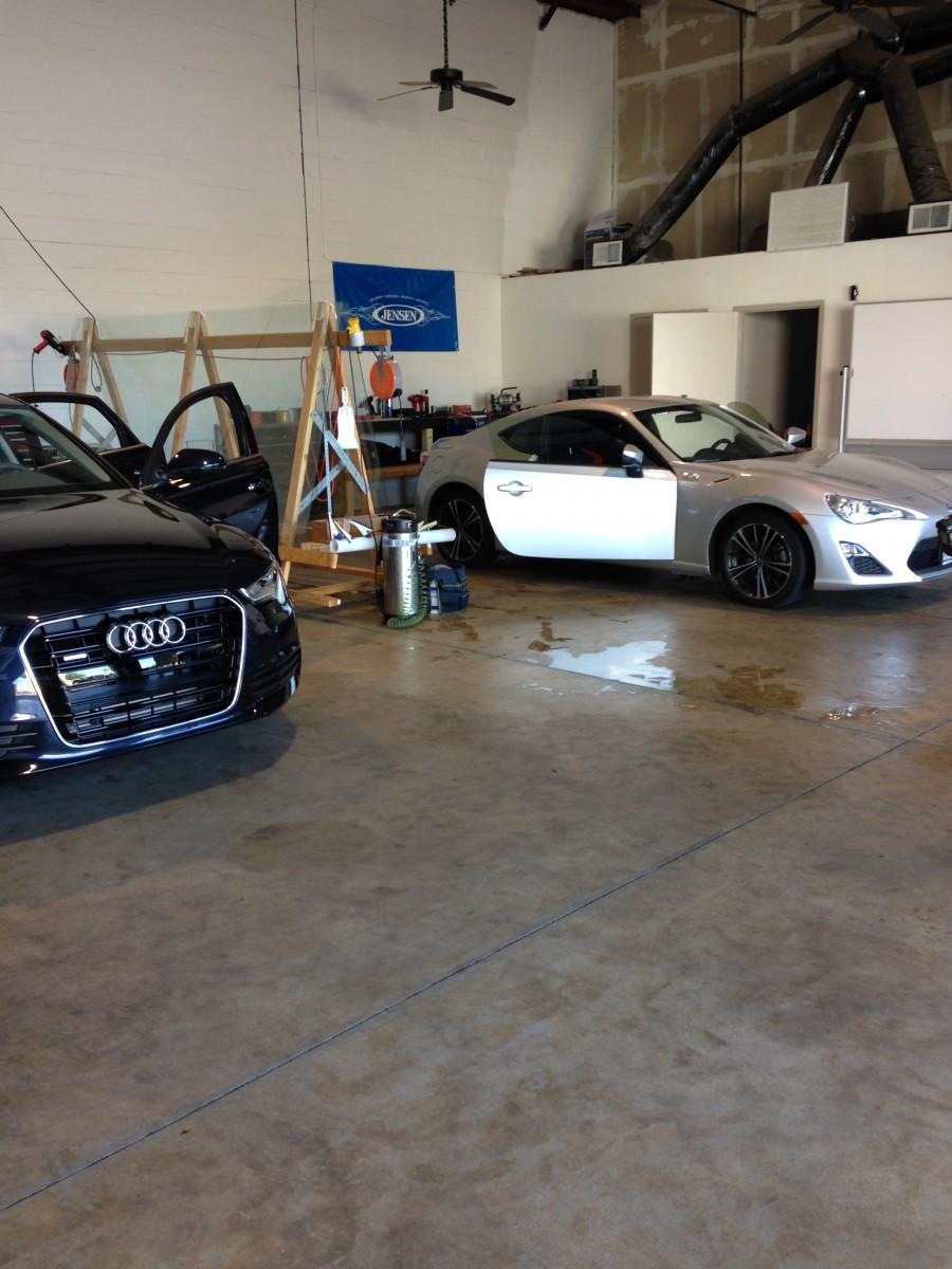Audi a8 3m window tinting modesto ca